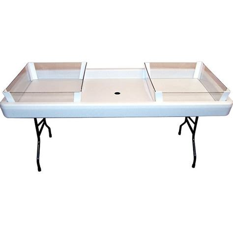 fill and chill table fill 39 n chill party table 2 3 depth extension kit