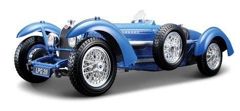 Raced in sports car events, hill climbs, and european grand prix hattons.co.uk - Burago 18-12062BU Bugatti Type 59 (1934 ...