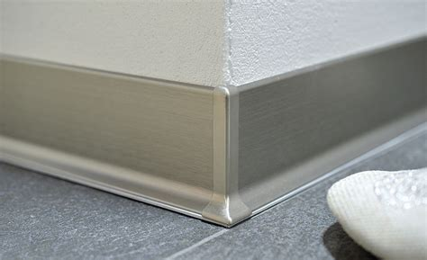 how to install schluter trim schluter releases new metal wall baseboard for commercial buildings 2016 11 02 stone world