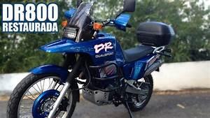 Suzuki Dr 800 : suzuki dr800 s teste de rua depois da restaura o youtube ~ Melissatoandfro.com Idées de Décoration