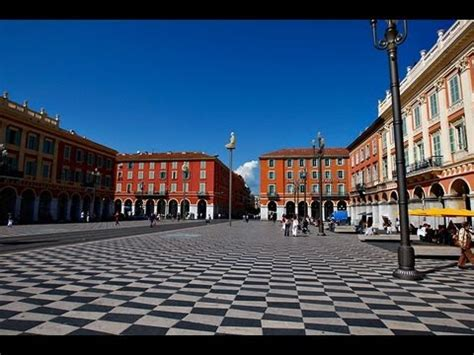 Nice  La Place Massena Youtube