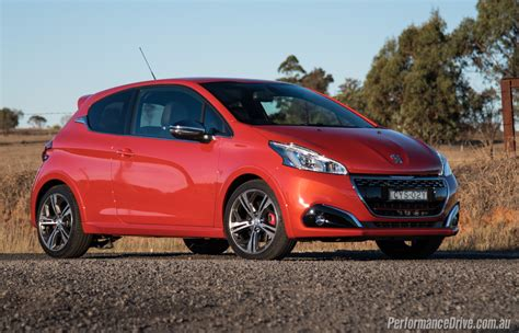 Review Peugeot 208 by 2016 Peugeot 208 Gti Review Performancedrive