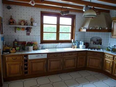 le chene cuisine rnover cuisine rustique cuisine en gris fonc