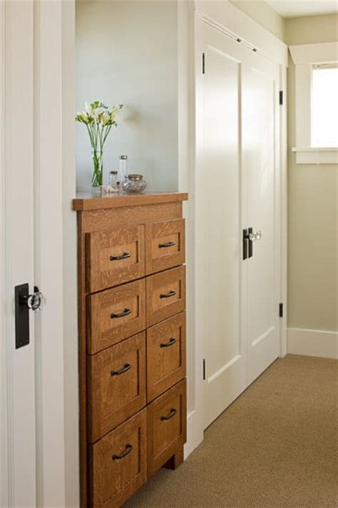 built in cabinets traditional bedroom seattle by