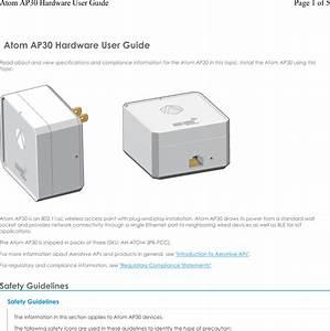 Aerohive Networks Atom