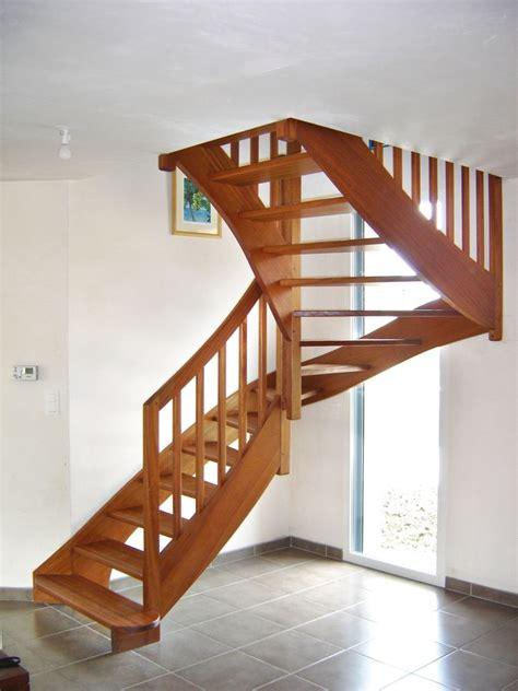 escalier en bois exotique 201 escaliers raux gicquel