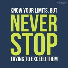 To Know Your Limit Quotes