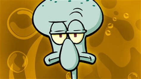 Squidward From Spongebob Squarepants  Cartoon