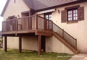 terrasse bois surelevee oy37 jornalagora With terrasse en bois en hauteur
