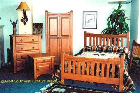 Southwestern Bedroom Furniture by New Mexico Southwest Bedroom Furniture Collection