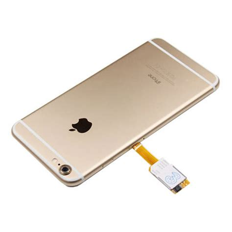 iphone no sim card iphone 6 plus dual sim card adapter with back smoke 15337
