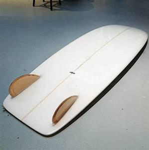 Bob Mitsven 5 U0026 39 8 Keel Minisimmons Clear Volan Surfboard