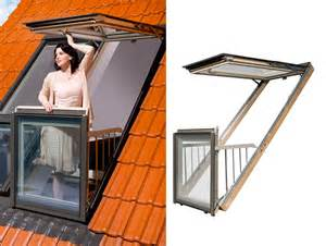 Roofed Balcony by Fakro S Innovative Windows Transform Into Airy Rooftop