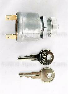Ezgo Golf Cart Key Switch 2 Terminal 81  U0026up Gas