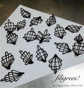 1000 images about choc filigree designs on pinterest With chocolate filigree templates