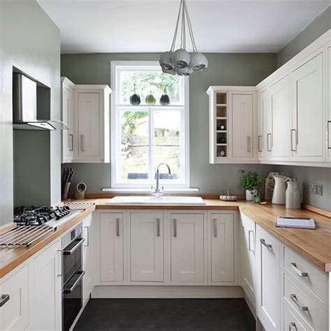 white  sage green country kitchen decorating