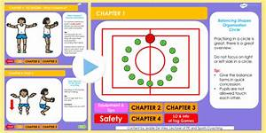 PE Balancing 4 5 6 Years Lesson Ideas PowerPoint 2 - balancing