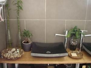 des decos de salles de bain zen idee deco de salle de bain With idee salle de bain zen