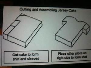football shirt cake template cakes pinterest kuchen With football t shirt cake template