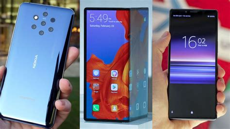 best phones of mwc 2019 every new handset you need to techradar