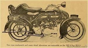 Bsa 6hp Model E For 1921