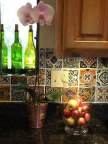 mexican tiles for kitchen backsplash dusty coyote mexican tile kitchen backsplash diy