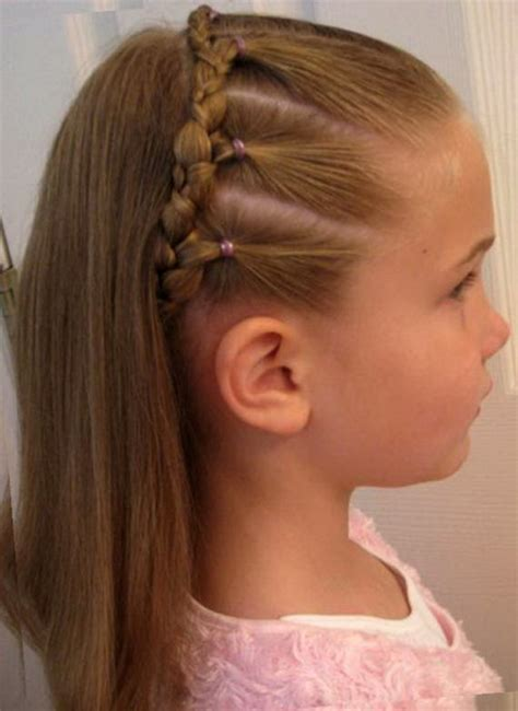 hairstyles 8 yr old girl