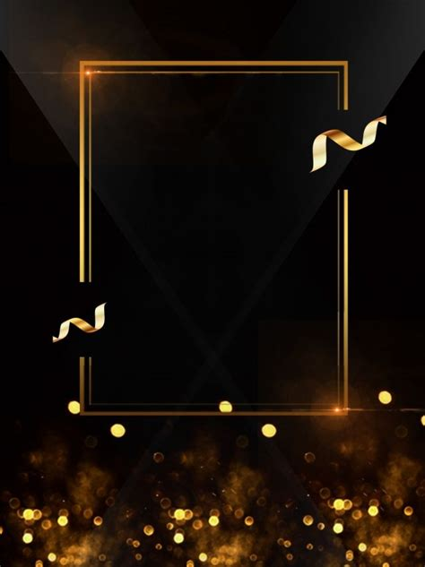 black gold wind creative background design black