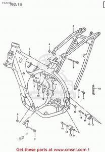 Suzuki Rm250 2000  Y  Frame