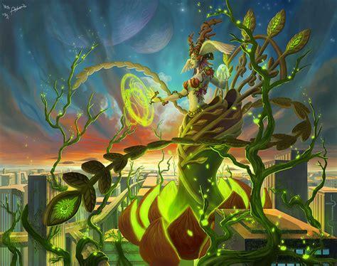 Elunxiagoddess Of Nature By Athenaerocith On Deviantart