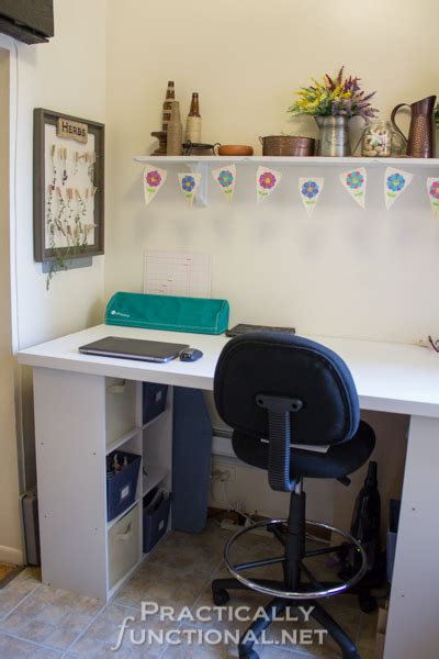 built  craft desk