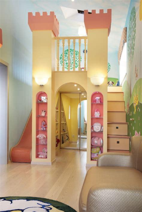 Kinderzimmer Mädchen Mit Rutsche by 30 Ideen Zum Gestalten Und Einrichten Im Kinderzimmer