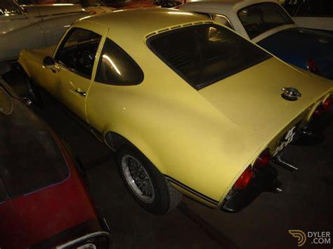 1974 Opel Gt by Classic 1974 Opel Gt For Sale Dyler