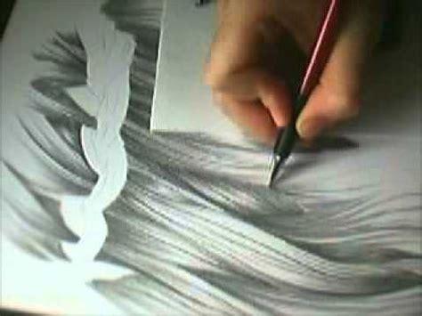 draw realistic hair wie man realistische haare