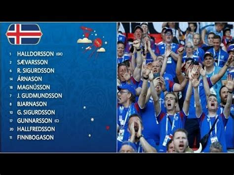 Here Why Iceland Players Have Surname Ending Son