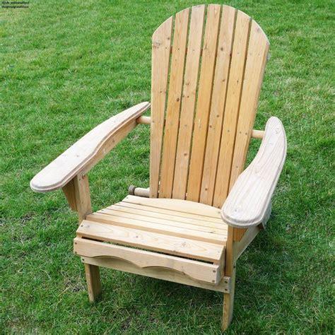 Folding Wooden Adirondack Beach Chair Deck Pool Backyard