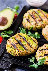 avocado chicken burger