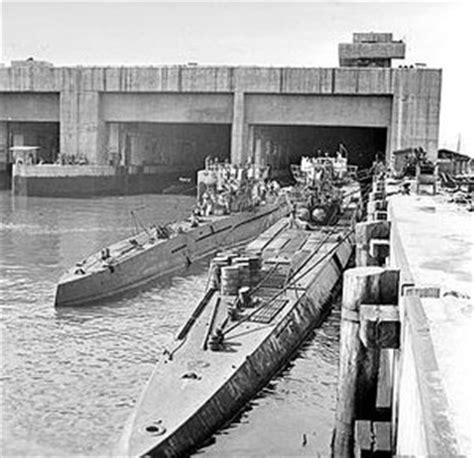 German U Boat Pens Brest by Submarine Pen