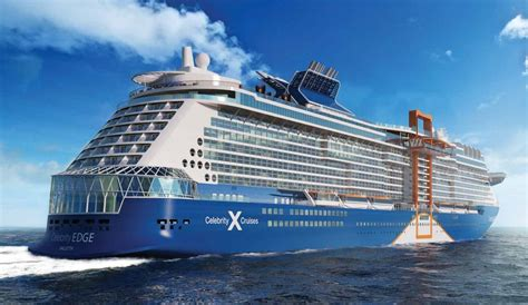 Celebrity Shows Off New Livery for Edge - Cruise Industry
