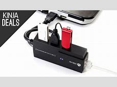 This USB Hub Includes Your TooThin Laptop's Missing