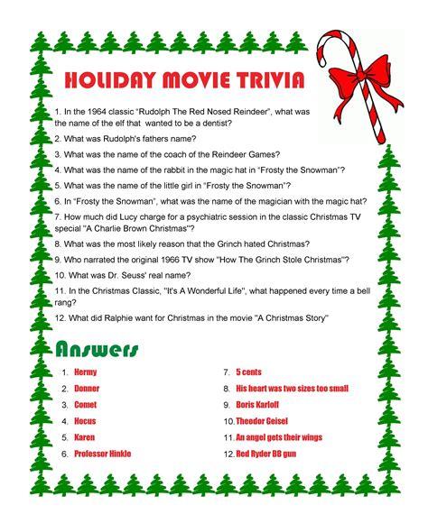 Best 25 Holiday Trivia Ideas On Pinterest Christmas