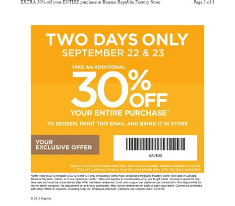 30598 Operation Parts Coupon Code by J Crew In Store Printable Coupons Deals