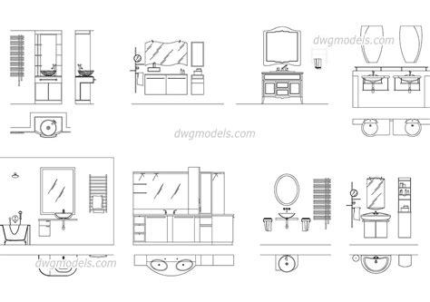 kitchen planner free lavatory and bathroom elevation dwg free cad blocks