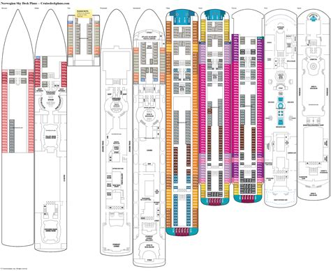 ncl deck plan pdf sky deck plans diagrams pictures