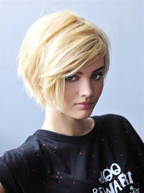 short haircuts  women  thick hair short