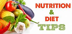 Diet And Nutrition  Healthy Eating And Balanced Diet Tips