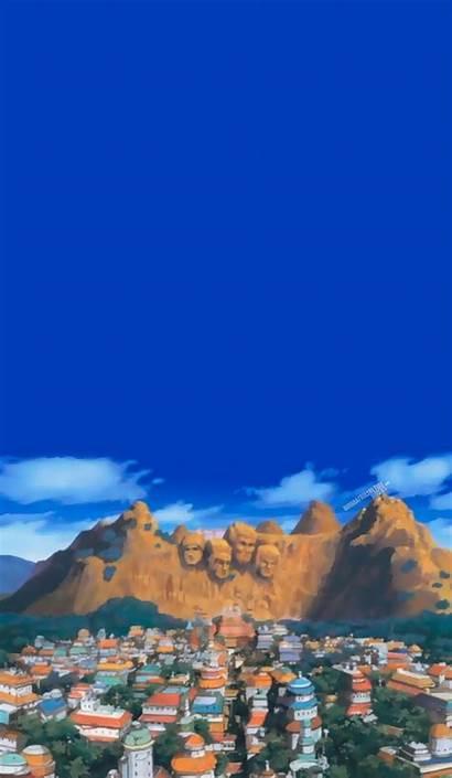 Naruto Anime Scenery Aesthetic Konoha Wallpapers Iphone