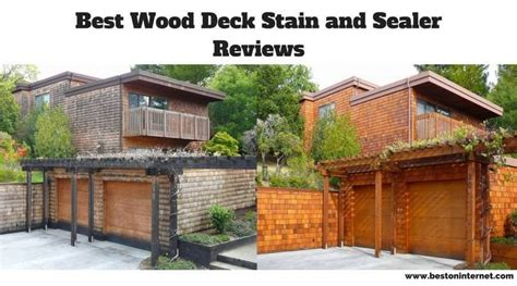 wood deck stain  sealer reviews