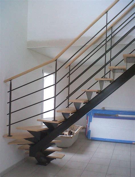 escalier limon central prix maison design deyhouse