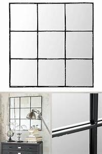 Miroir Industriel Ikea : les 10 meilleures images du tableau miroir type industriel ~ Teatrodelosmanantiales.com Idées de Décoration